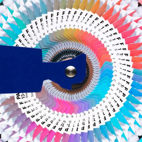 "Pantone ""Diamond Jubilee Colour Guide"""