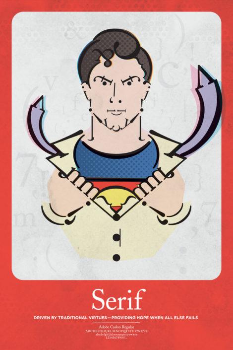 Serif Superman