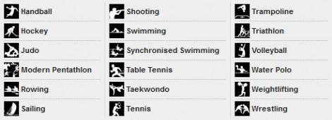 Eigene Piktogramme für Olympia 2012 (2)