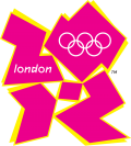 Das Logo von Olympia 2012 in London