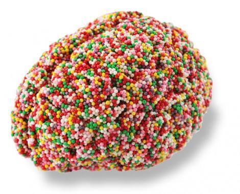 Gehirn aus Zuckerperlen