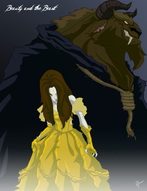 Twisted Disney Princesses - Beauty and the Beast