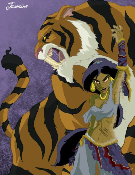 Twisted Disney Princesses - Jasmine