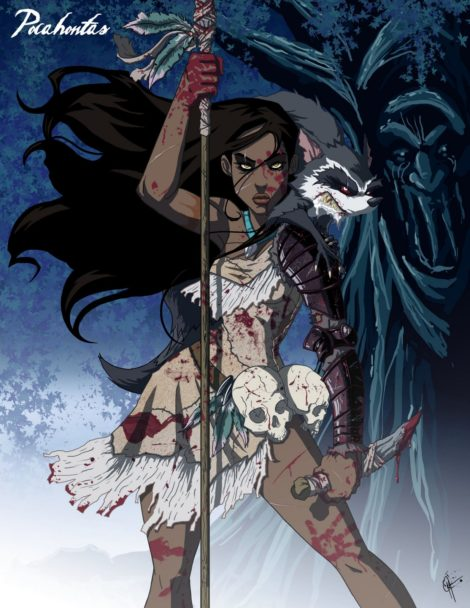 Twisted Disney Princesses - Pocahontas