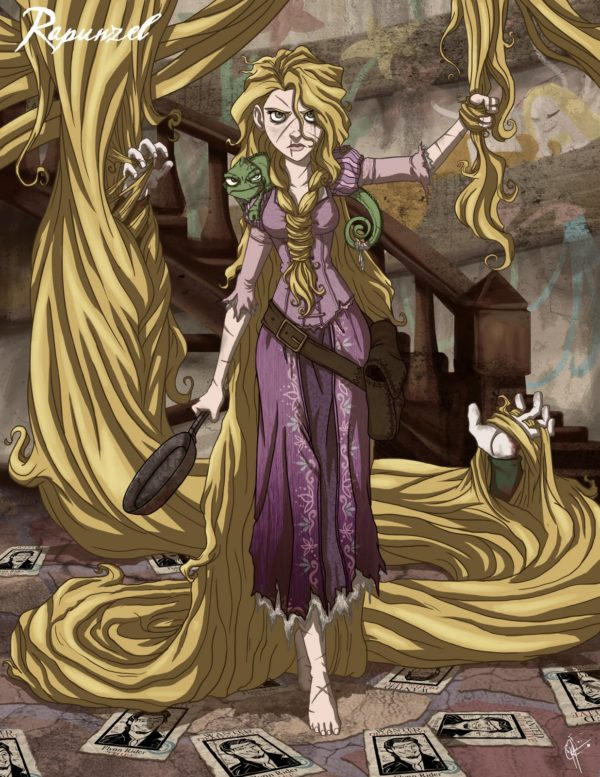 Twisted Disney Princesses - Rapunzel