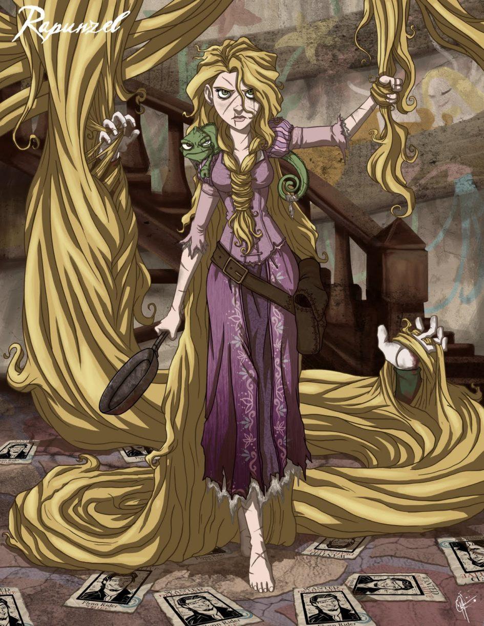 Twisted Disney Princesses - Rapunzel