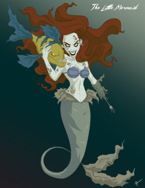 Twisted Disney Princesses - The little Mermaid
