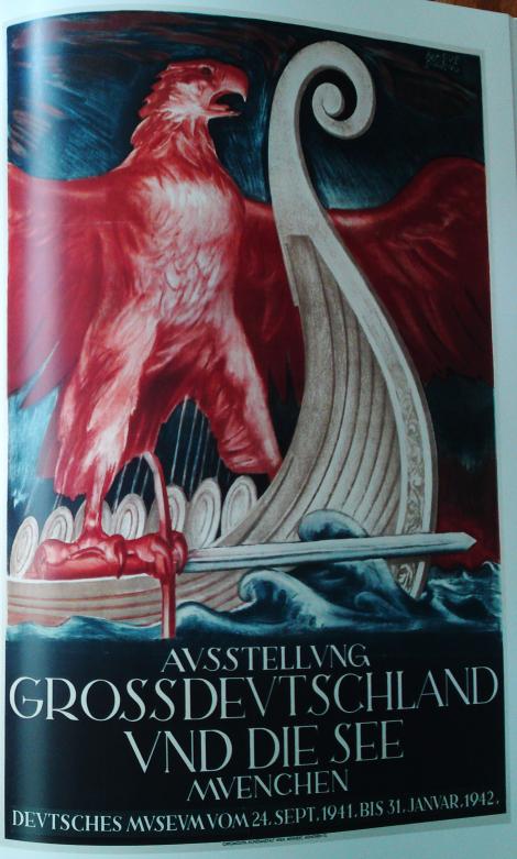 """Plakat zur Ausstellung """"Großdeutschland und die See"""" von 1941"""