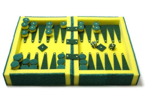Schwamm-Backgammon