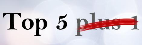 Top 5 plus 1 September