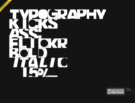 Typography Kicks Ass