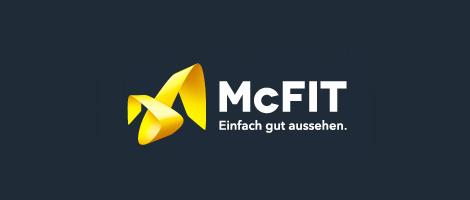 Das McFIT-Logo nach dem Redesign