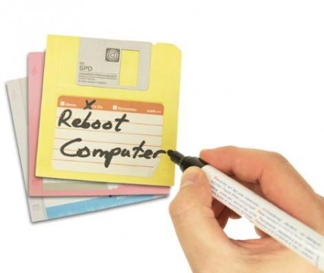 Last Minute Geschenke: Floppy Notizzettel