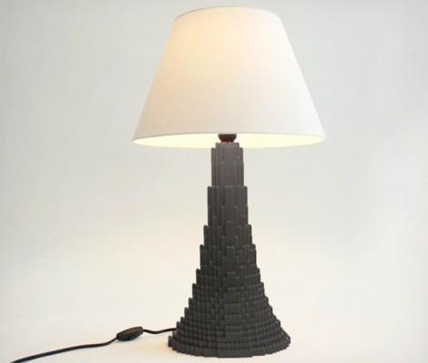 Last Minute Geschenke: Lego Lampe