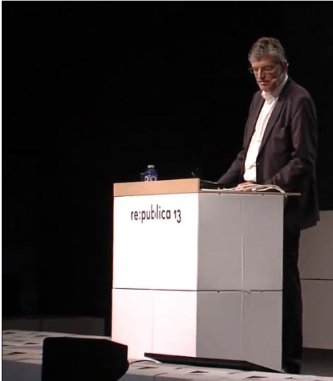 re:publica 13: Prof. Dr. Lothar Müller - Das Blatt und das Netz