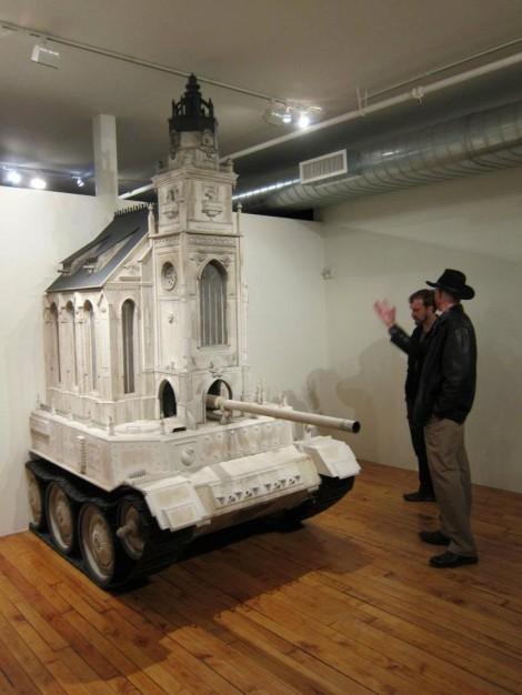 Kirchenpanzer in der Joshua Liner Gallery